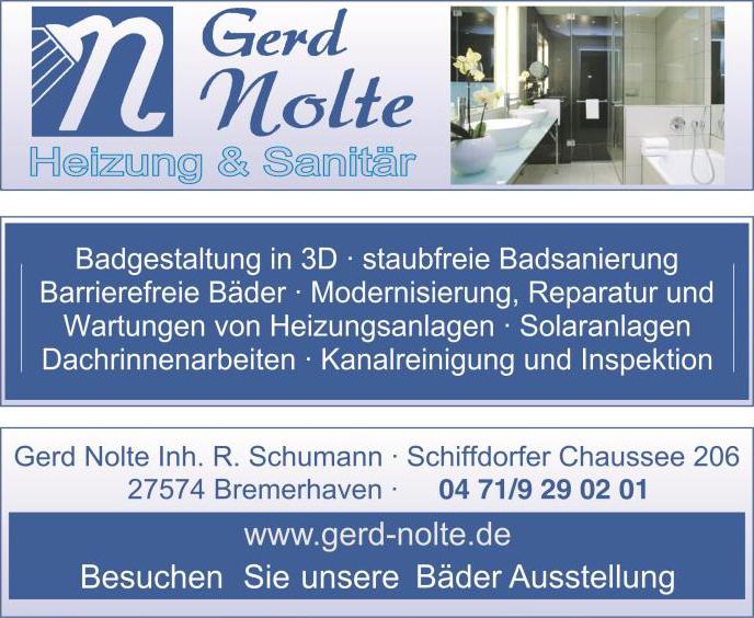 Über Gerd Nolte Heizung & Sanitär