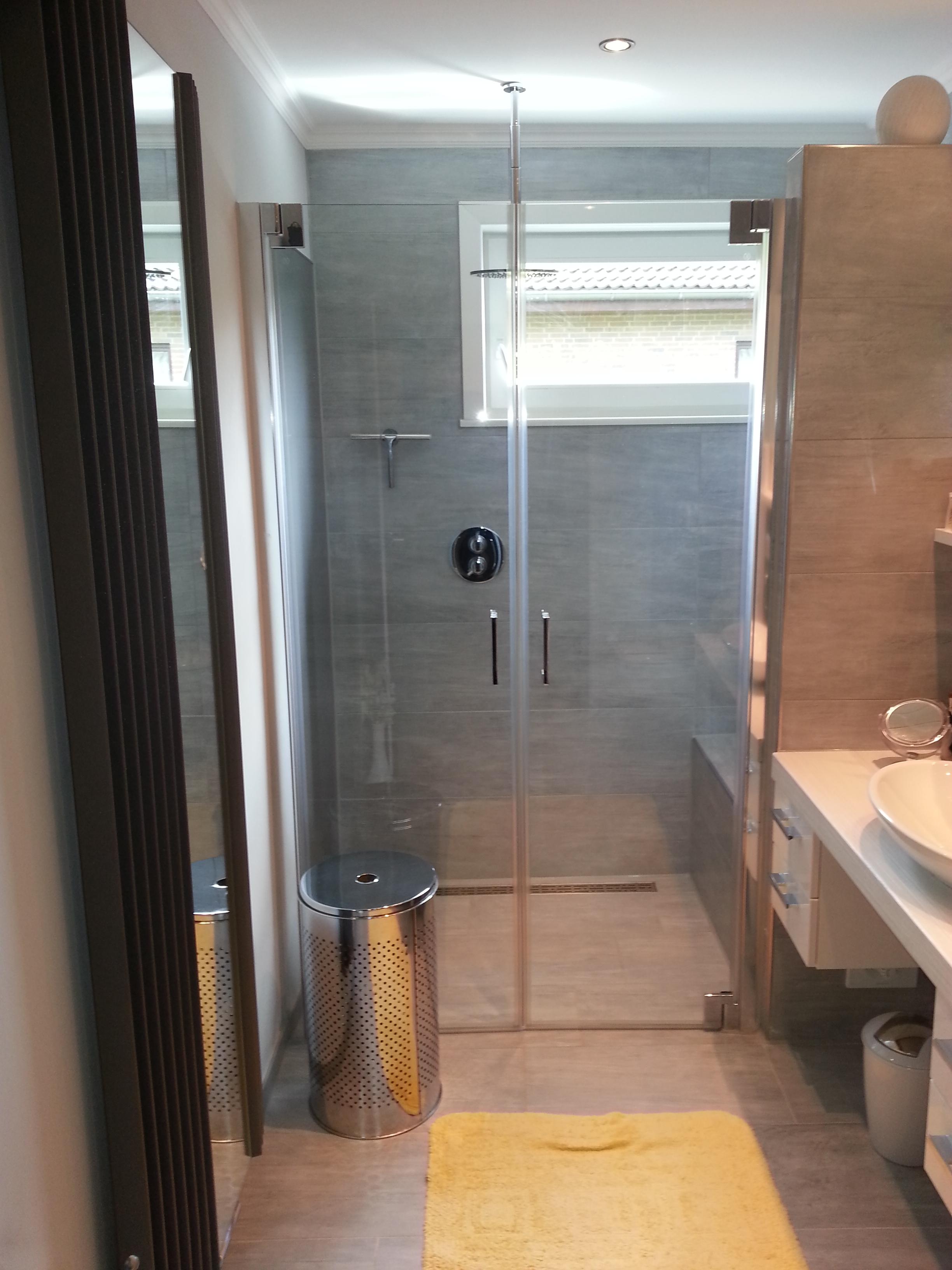 gerd nolte heizung & sanitär – badezimmer – glas-duschkabine mit, Hause ideen