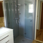 Badezimmer 5 Dusche Acrylglas