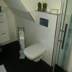 Badezimmer 10 Toilette Acrylglas
