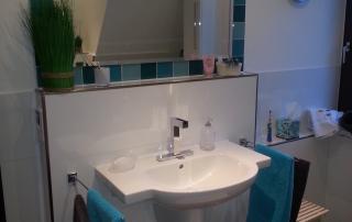 Badezimmer 10 Waschbecken Acrylglas