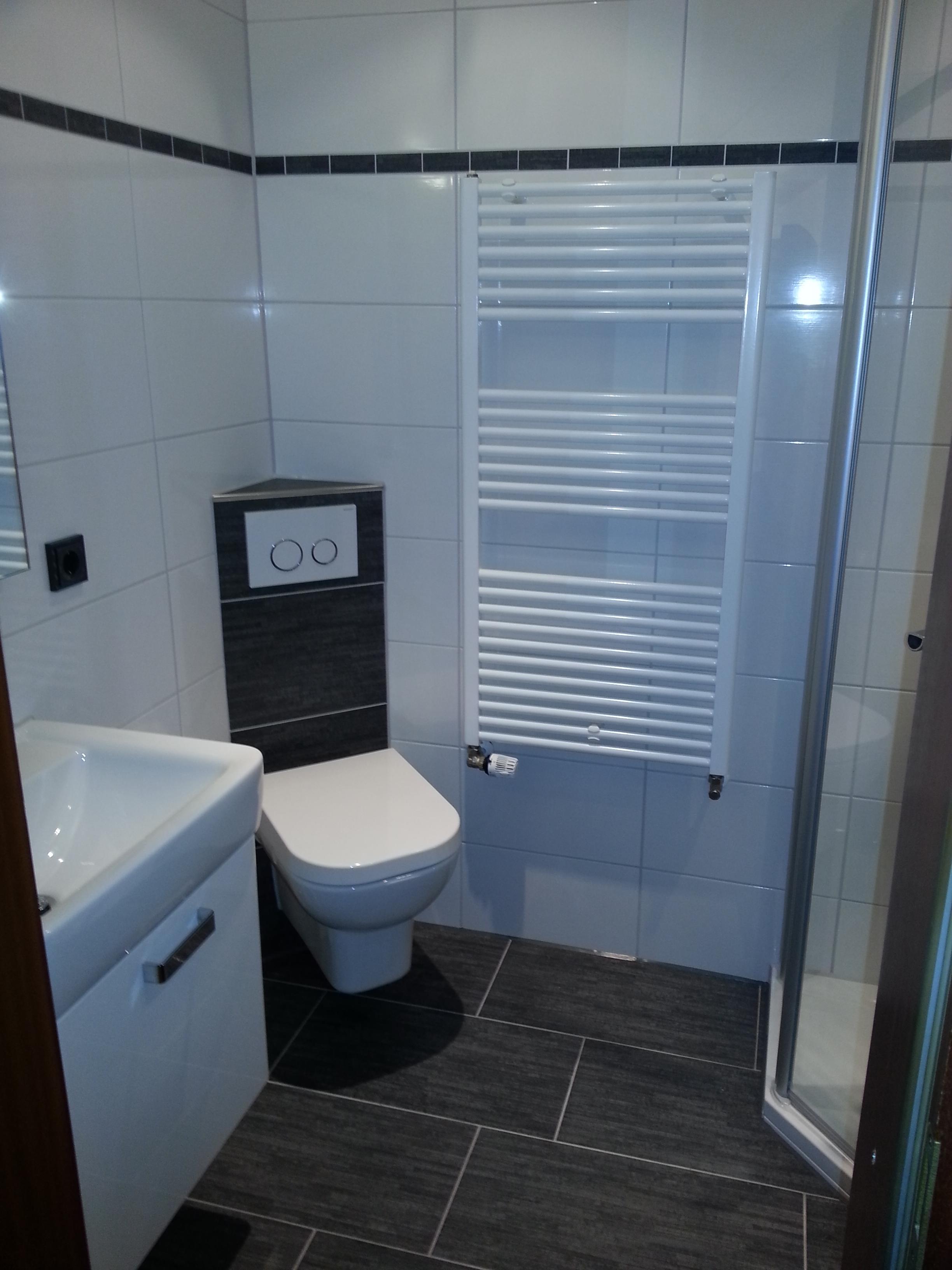Gut gemocht Gerd Nolte Heizung & Sanitär – Gäste WC mit Rund-Dusche ZZ91