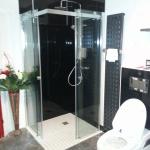 Acrylglasplatten Dusche 1