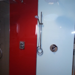 Acrylglasplatten Dusche 2