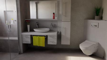 Badezimmer Planung 1