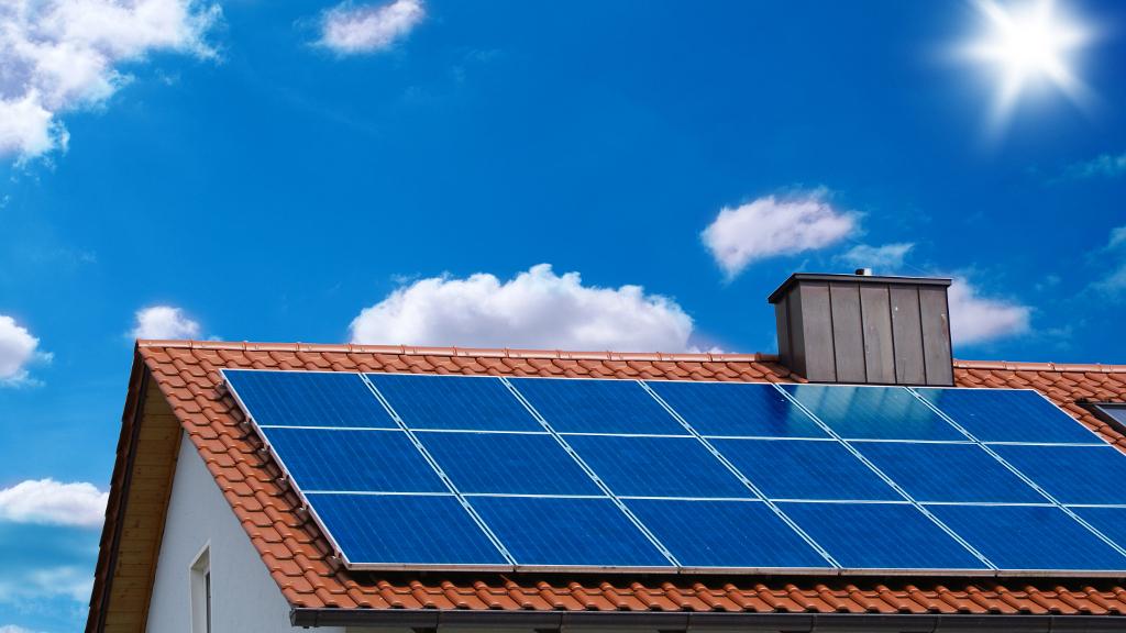 Solar Heizung Dach